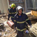 Работы по сносу в Атаках: спасатели вынесли из дома ещё два газовых баллона (ФОТО, ВИДЕО)