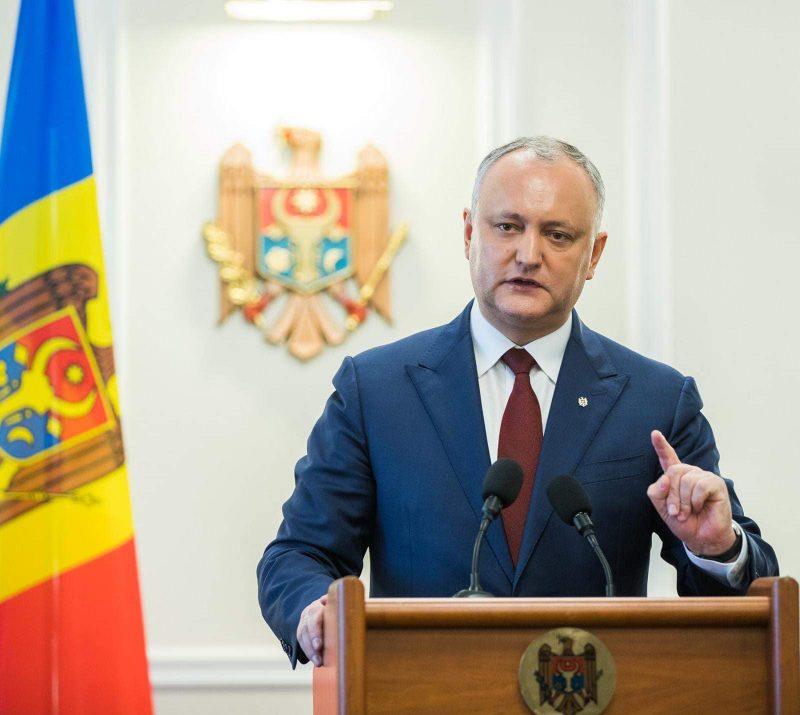 Додон об инициативе пригласить Саакашвили для реформирования молдавской юстиции: Пока я президент, на ключевые должности будут продвигаться только граждане РМ