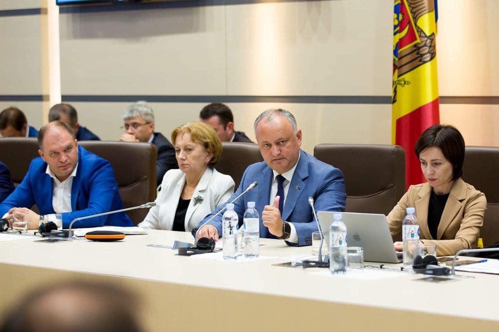 Диалог в расширенном формате: президент, спикер, премьер, члены кабмина и фракция ПСРМ обсудили совместную деятельность (ФОТО)