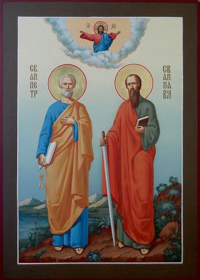 Президент поздравил граждан с днем Святых Апостолов Петра и Павла