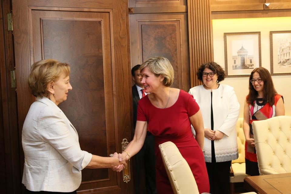 Гречаный провела встречу с делегацией Всемирного банка (ФОТО)