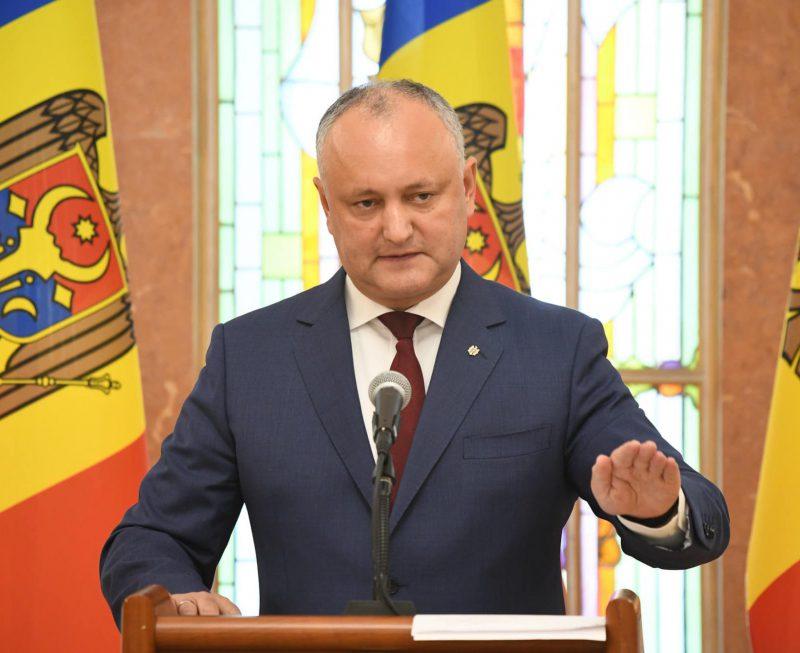 Игорь Додон подвел итоги выборов: главные выводы главы государства