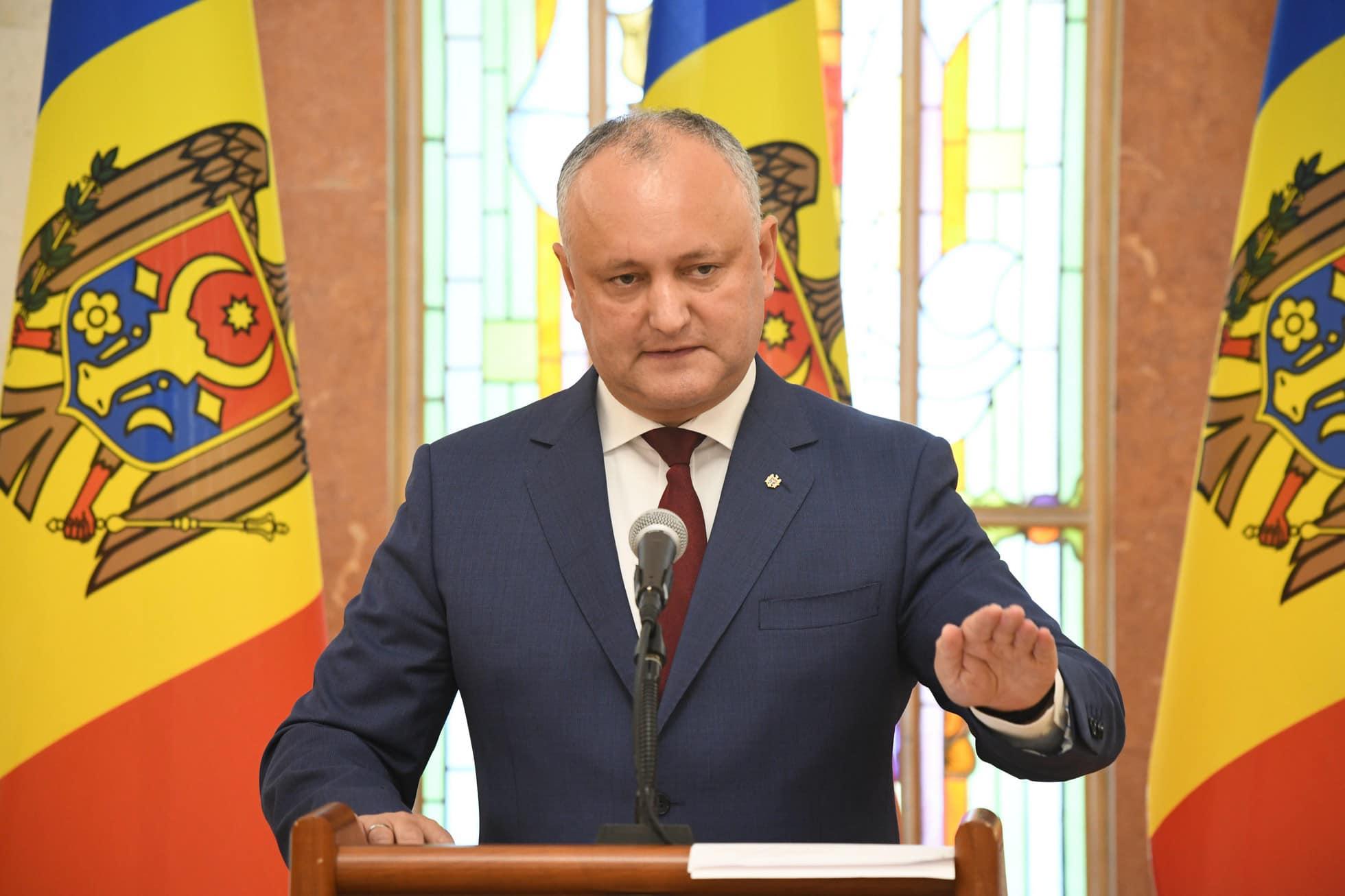 Более 50% граждан намерены голосовать на президентских выборах за Игоря Додона