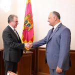 Президент встретился с послом Греции в Молдове (ФОТО, ВИДЕО)