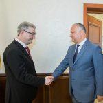 Президент провел встречу с послом Чехии в Молдове (ФОТО, ВИДЕО)