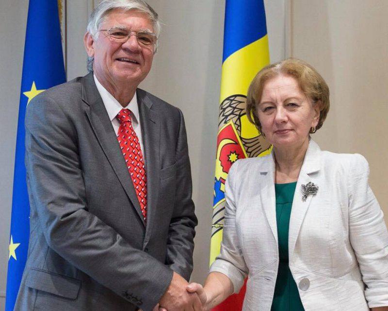 Гречаный встретилась с послом Венгрии в Молдове