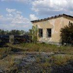 Спасатели потушили возгорание сухой растительности в Бессарабке (ФОТО)