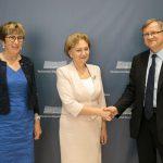 Спикер встретилась с прибывшей в Молдову делегацией ПАСЕ