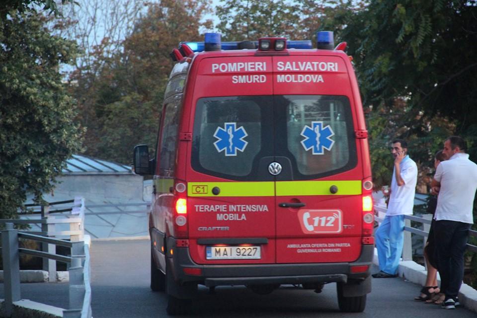 Экипаж SMURD доставил пострадавшего в Румынии молдаванина в больницу (ФОТО, ВИДЕО)