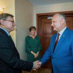 Президент провел встречу с содокладчиками ПАСЕ по Молдове (ФОТО, ВИДЕО)