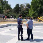 До конца лета работы по реконструкции фонтана в Долине роз будут завершены (ФОТО)
