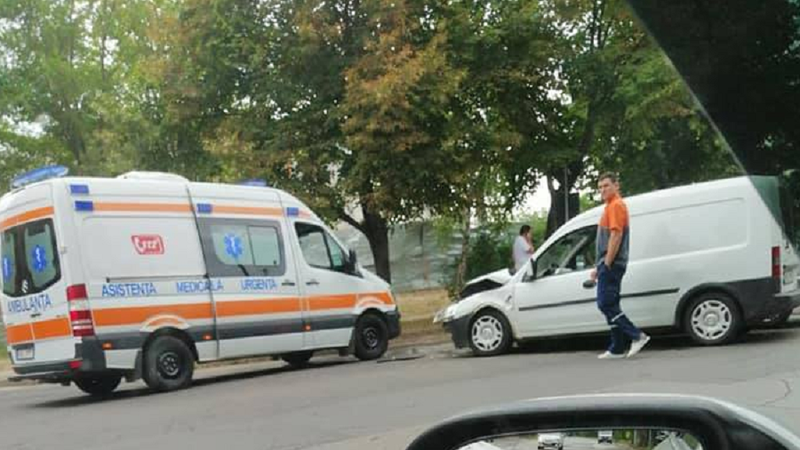 Цепная авария на Чеканах: столкнулись три авто