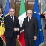 Додон поздравил президента Италии с днем рождения
