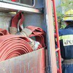 Пожар в Оргееве: пожилую хозяйку дома удалось спасти