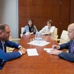 Чебан провел встречу с политическим советником ЕБРР
