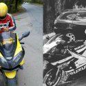 В страшном ДТП с участием мотоцикла скончался молодой сотрудник пенитенциара Руска