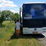 В шаге от трагедии: автобус Кишинев - Брашов с 40 пассажирами чуть не попал в ДТП