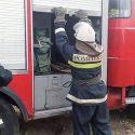Мать с ребёнком спасли при пожаре в Чадыр-Лунге (ВИДЕО)