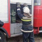 В пассажирском поезде Кишинев - Унгены произошел пожар