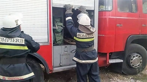 В пассажирском поезде Кишинев – Унгены произошел пожар