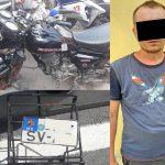 Угнал чужой мотоцикл и бросил: за содеянное рецидивисту грозит срок (ВИДЕО)