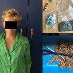 Полиция задержала жительницу столицы по подозрению в хранении и распространении наркотиков (ВИДЕО)