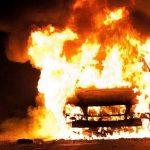 В Каменском районе пожар повредил гараж и уничтожил автомобиль