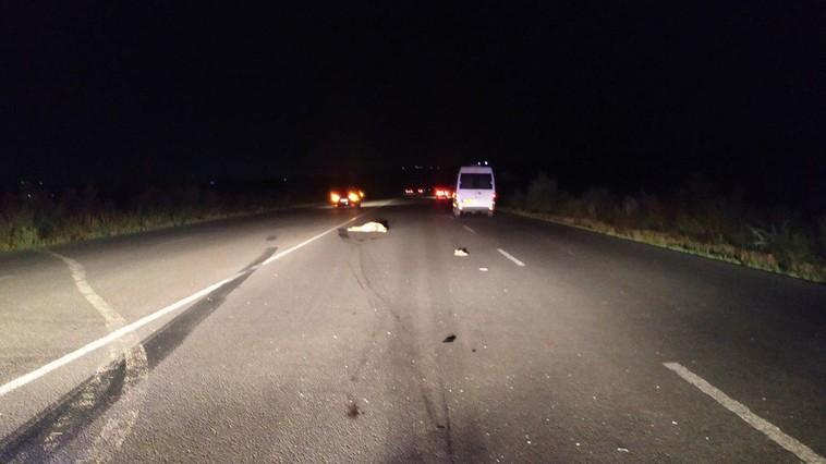 Смертельное ДТП на трассе Кишинёв-Унгены: пешеход погиб под колёсами микроавтобуса