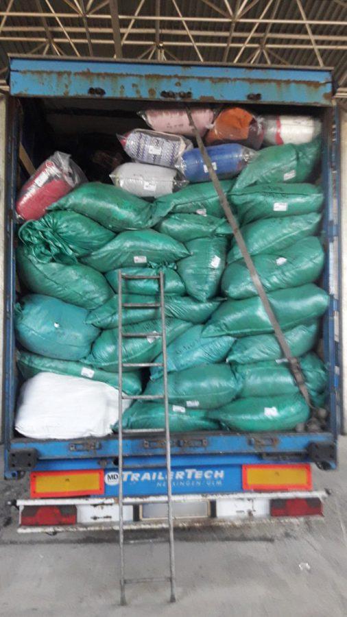 Таможенники задержали крупную партию нелегального секонд-хенда (ФОТО)