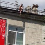 Жительница столицы попыталась сброситься с крыши: её удалось отговорить