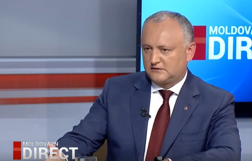 President Dodon: I do not exclude meetings with Johannis and Zelensky in early September