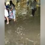 Ливень затопил подземный переход в центре Кишинёва (ВИДЕО)