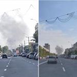 В столице горит автосервис: тушить огонь прибыли три пожарные машины (ФОТО, ВИДЕО)