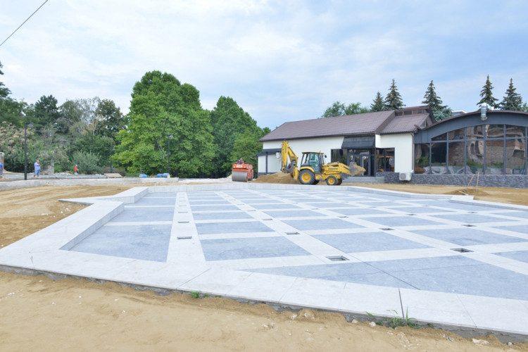 В воскресенье состоится открытие отремонтированного усилиями социалистов фонтана в парке «Долина роз» (ФОТО)