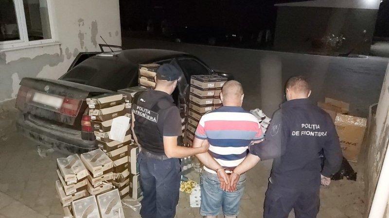 На севере страны пограничники конфисковали партию контрабандных товаров на 120 000 леев