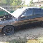 Легковое авто и жилой дом загорелись в Гагаузии: обошлось без жертв (ФОТО)