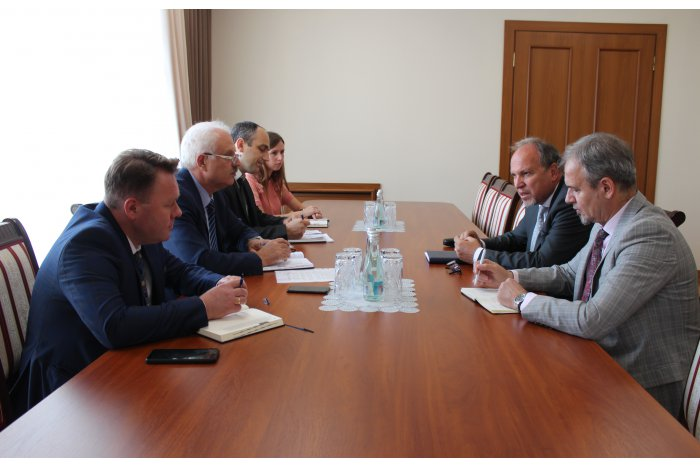 Василий Шова провёл встречу с послом Румынии