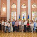 Группа молодых людей из организации «Tinerii iubesc Moldova» посетила президентуру (ФОТО, ВИДЕО)