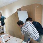 Стараниями социалистов в Управлении соцобеспечения сектора Ботаника был сделан ремонт (ФОТО)