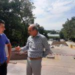 Реконструкция лестницы и сквера в парке «Валя Морилор» находится на завершающем этапе (ФОТО)