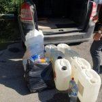 Полицейские изъяли около тонны этилового спирта в ходе спецоперации в Бельцах (ФОТО, ВИДЕО)