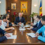 Додон провёл рабочее заседание со спикером и руководством парламентской фракции ПСРМ