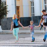 НИП призывает родителей подавать хороший пример детям при пересечении дороги