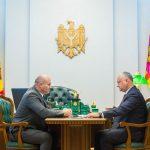 Президент провёл встречу с министром обороны (ФОТО, ВИДЕО)