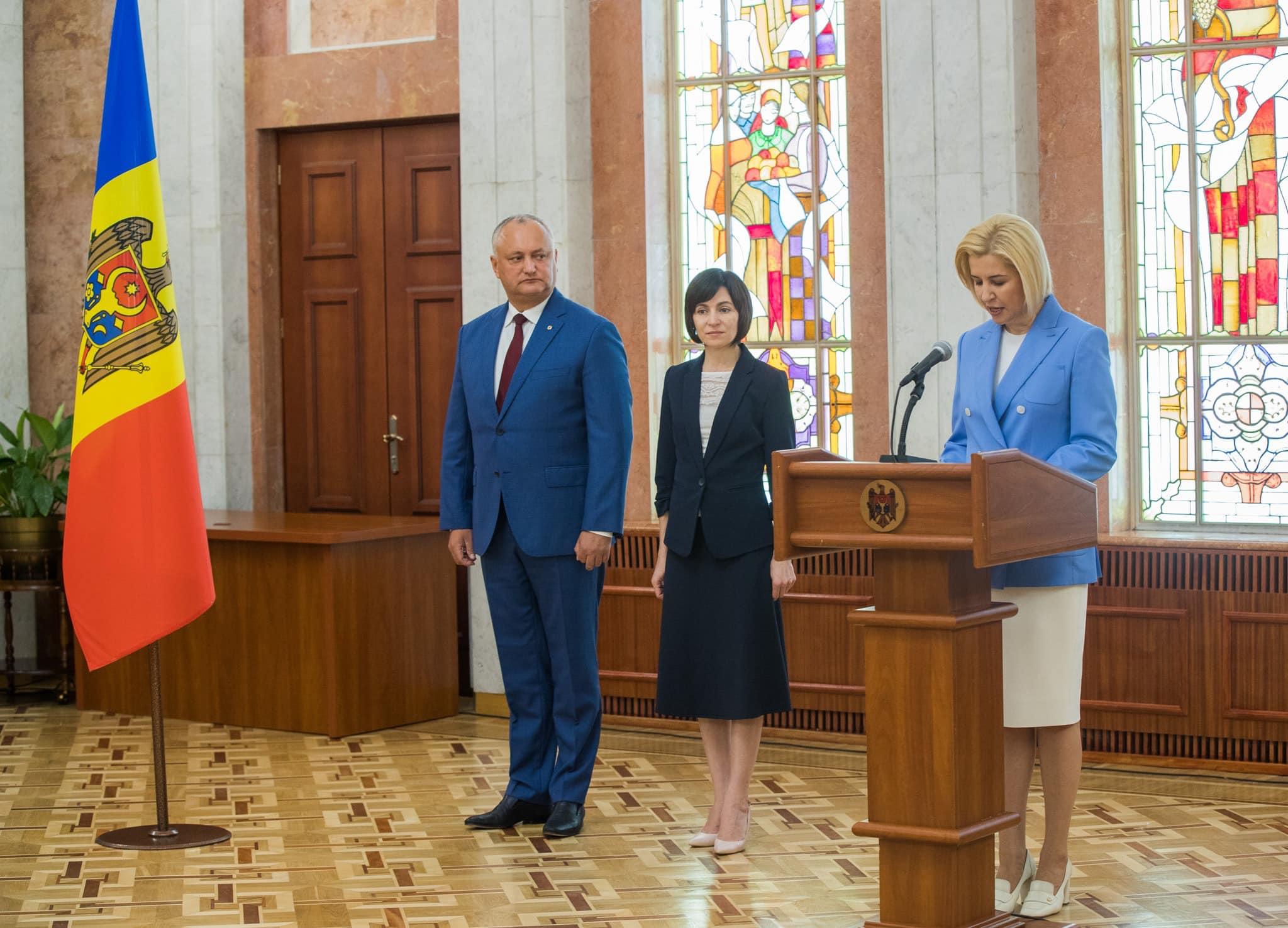 Ирина Влах принесла присягу в качестве члена Правительства РМ (ВИДЕО, ФОТО)
