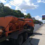 Ремонтные работы на бульваре Траян ведутся полным ходом (ФОТО)