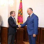 Президент встретился с членом Палаты Представителей Конгресса США (ВИДЕО, ФОТО)