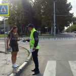 Операция «Пешеход»: Сотрудники НИП обучают граждан, как правильно переходить дорогу (ФОТО)