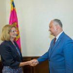 Додон провел встречу с послом Великобритании в Молдове (ВИДЕО, ФОТО)