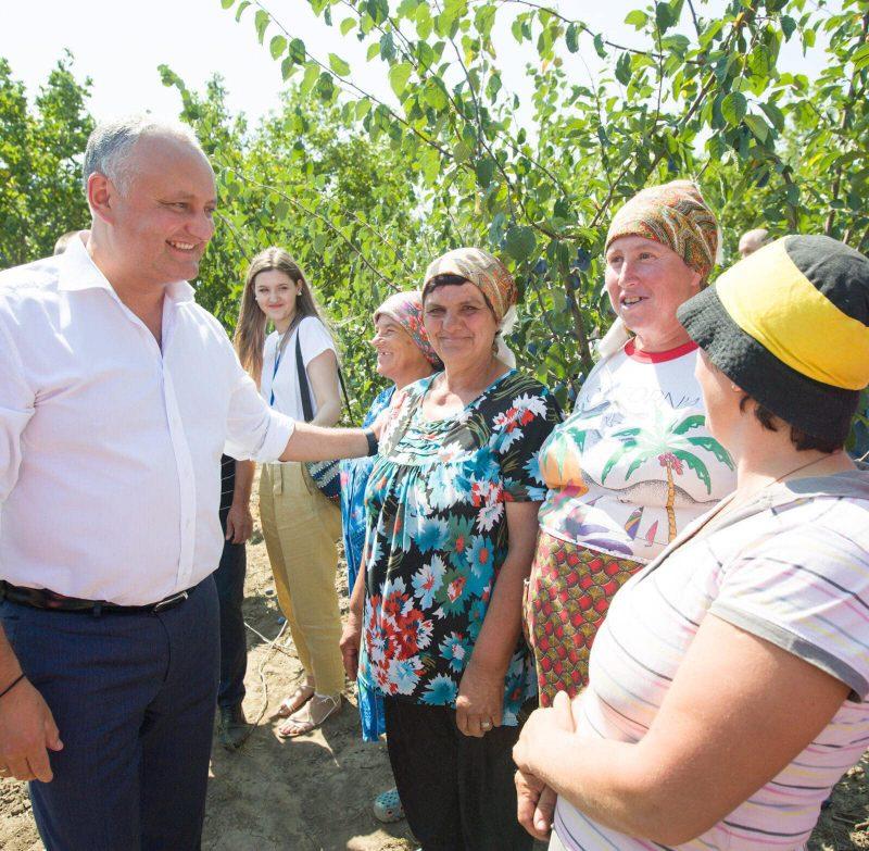Додон: Буду и далее прилагать усилия для расширения доступа молдавских производителей на российский рынок (ФОТО, ВИДЕО)